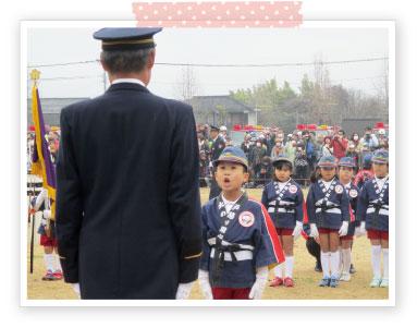幼年消防出初式