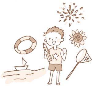 年間行事背景-夏